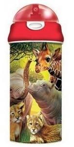 3D DRINK BOTT AFRICAN WILDLIFE  BUY 6PCS+++