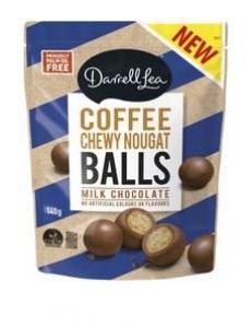DL COFFEE NOUGAT BALLS 140G+++