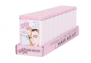 GOSSIP GIRL HAIR AID KIT DISPLAY 9PCE+++
