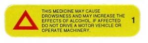 ADVISORY LABEL WARNING INFORMATION+++