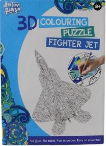 3D PUZZLE  FIGHTER JET