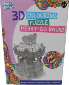 3D PUZZLE  MERRY GO ROUND
