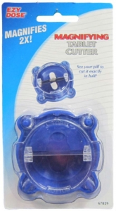 MAGNIFYING TABLET CUTTER