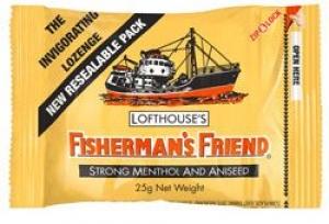 FISHERMANS FRIENDS ANISEED 25G BOX12(YEL