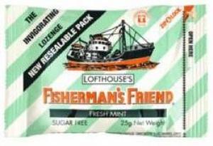 FISHERMANS FRIENDS FRESH MINT S/F BOX 12