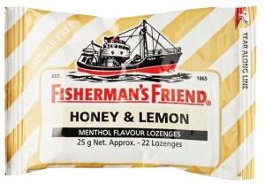 FISHERMAN FRIENDS HONEY -LEMON S/F BOX 12