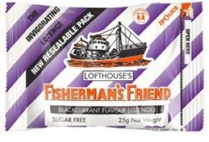 FISHERMANS FRIENDS B/CURRANT S/F BOX12