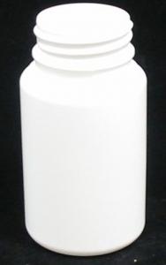 90ML WHITE ROUND HDPE T/TELL(3827)