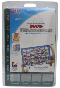 E/D MAXI PHARMADOSE 4 A DAY WEEKLY ORGAN+++