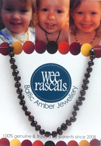 AMBER NECKLACE ADULT 46CM CHERRY