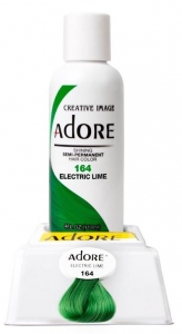 ADORE #164 SEMI PERM.HAIR COLOR ELECTRIC LIME