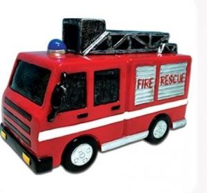FIRE ENGINE MONEY BOX 17X8CMO(SO)