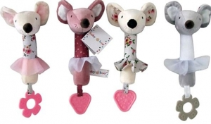BABYBOO SQUEAKERS MOUSE 28CM