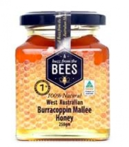 BFT BEES PURE MALLEE HONEY 250GM+++