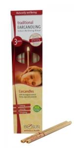 BIOSUN EAR CANDLES 3 PAIR