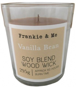 CANDLE 295G WW GLASS VANILLA BEANS