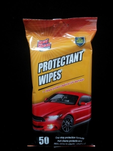 REAL CLEAN PROTECTION CAR WIPES PK 50+++