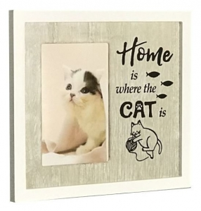CAT PHOTO FRAME HOME 4X6
