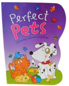 COLOURING & ACTIVITY BOOK PERFECT PETS 40PG