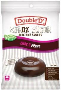 DOUBLE D CHOC DROPS 70G