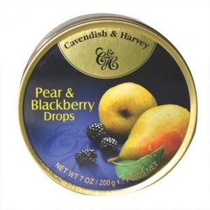 C&H TINS PEAR & BLACKBERRY 200GM