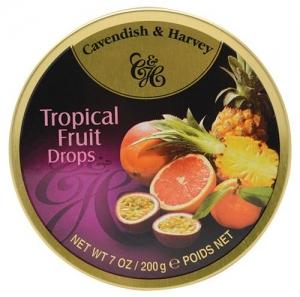 C&H TINS TROPICAL FRUIT 200GM