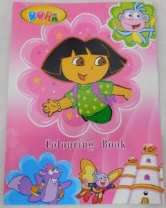 DORA COLOURING BOOK