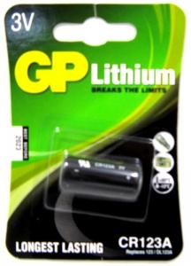 GP BATTERY LITHIUM PHOTOGRAPHIC 3V  CD1