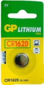 GP BATTERY LITHIUM COIN 3.0V CD1