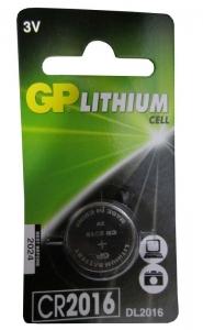 GP BATTERY LITHIUM COIN 3 VOLT CRD1