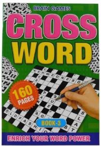 CROSSWORD PUZZLE BOOK 3 160PGE