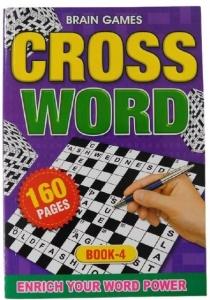 CROSSWORD PUZZLE BOOK 4 160PGE