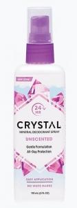 CRYSTAL DEOD. SPRAY UNSCENTED 118ML