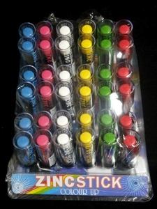ZINC STICKS UNIT 36 ASSTD COLOURS