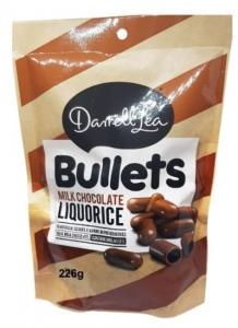 DL MILK CHOCOLATE BULLETS 250GM(DL7500)