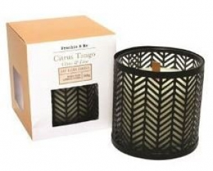 CANDLE 368G  WW CITRUS TANGO & LIME + WIRE BLACK