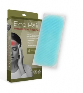 ECO PAIN HEADACHE PATCHES  4'S