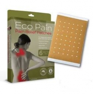 ECO PAIN  RELIEF HEAT PATCH 6'S