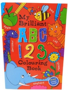 EARLY LEARNING COLOURING BOOK 72PG