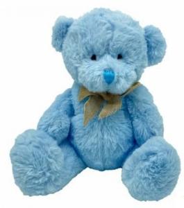 SAGE BLUE BEAR 20CM ECO HUGS