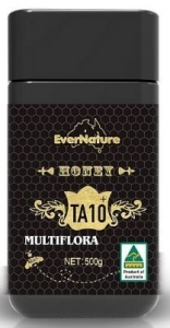 EVERNATURE HONEY JAR MULTIFLORA 500G(10+)