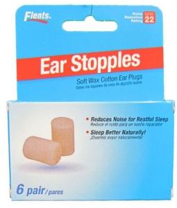 EAR STOPPLES S. WAX COTTON EAR PLUG 6P