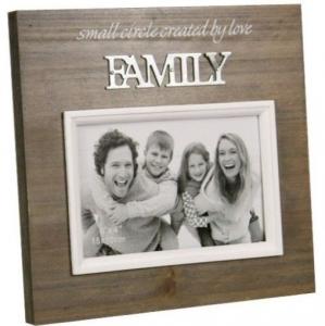 PHOTO FRAME 6X4 FAMILY