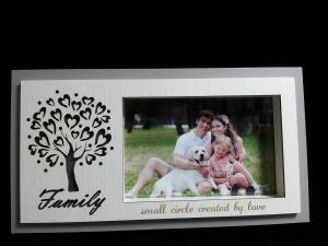 PHOTO FRAME  LED FAMILY 6X4