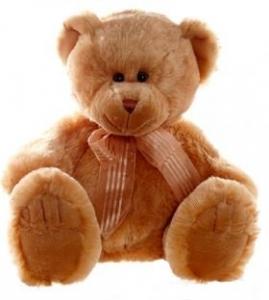 FRANKIE BEAR BROWN 40cm