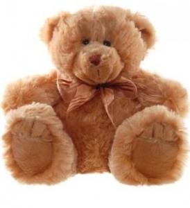 FRANKIE BEAR BROWN SMALL 28cm