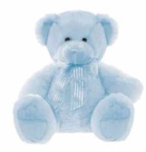 FRANKIE BEAR BLUE SMALL 28cm