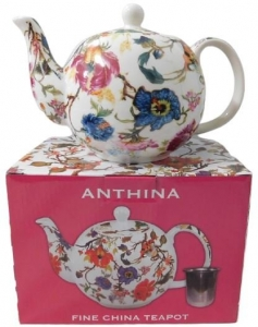 ANTHINA TEA POT WITH INFUSER