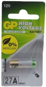 GP BATTERY 12VOLT  HIGH VOLTAGE CRD1