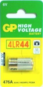 GP BATTERY PHOTOGRAPHIC ALKALINE 6V CRD1